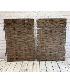 Pair of Side Panels for Double Wheelie Bin Screen